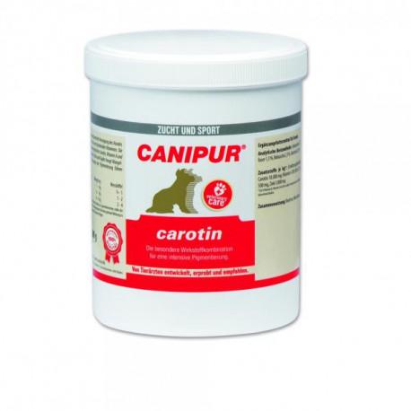 Canipur Carotin Hautpigmentierung / 500 Gramm Dose