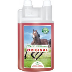 Vita pro Pferde biologisches Ergänzungsfutter die Lösung