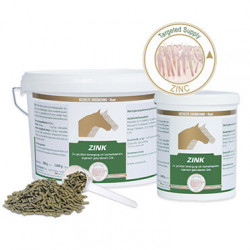 Equipur Zink 2,4 kg Ausverkauf Ergänzungsfuttermittel für Pferde Vetripharm