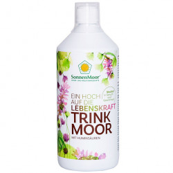SonnenMoor Trinkmoor Trinkkur Mensch