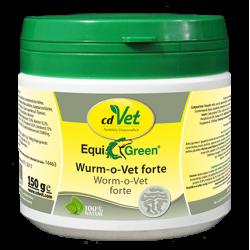 cdVet Naturprodukte EquiGreen Wurm-o-Vet forte Würmer Pferd