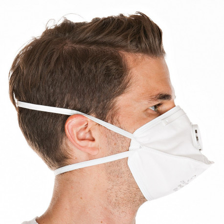 Atemschutz Maske Franz Mensch