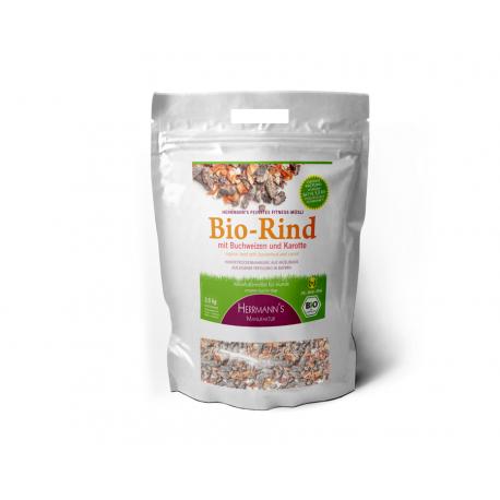 Fitnessmüsli Bio Rind mit Buchweizen 2,5 kg