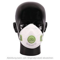 10 Stück Mund Nasen Atem Maske mit Ventil | FFP3 NR