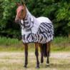Pferdedecke Bucas Buzz-Off Rain Zebra Full-Neck