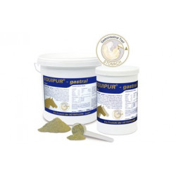 Equipur Gastral Ergänzungsfuttermittel 3 Kilo ausgewählte Wirkstoffe für die Magenschleimhaut.