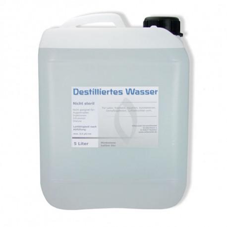 Destilliertes Wasser 1 Liter Aqua Dest